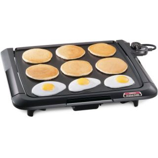 Presto Cool Touch Electric Tilt n Drain Griddle