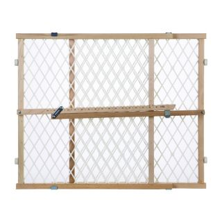 North States Diamond Mesh Wood Gate   15751588