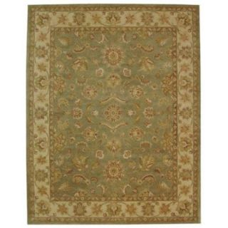 Safavieh Antiquity Green Traditional Rug   11 x 15