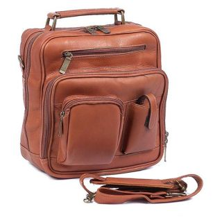 ClaireChase Personalized Jumbo Mens Bag   Saddle   Briefcases