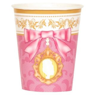 Let Them Eat Cake 9oz Paper Cups   8 count