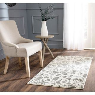 Safavieh Porcello Dark Grey/ Ivory Rug (2 x 37)   16378960