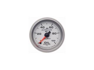 Auto Meter Ultra Lite II Electric Oil Pressure Gauge