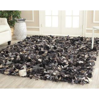 Safavieh Shag Black & Gray Area Rug