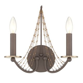 Elegant Lighting Lyndon Collection 1452 Wall Lamp with Dark Bronze