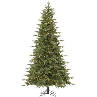 foot Fresh Balsam Fir Tree with 750 Dura Lit Clear Lights