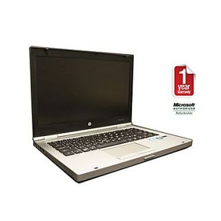 Refurb HP 8460P, 14 laptop, Core i5 2.5 GHz, 4GB Memory, 256GB SSD Hard Drive, COMBO, Windows 7 Professional 64bit