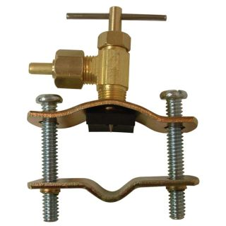 Watts 1/4 in Brass Compression In Line Straight Valve