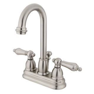 Kingston Brass KB3618AL Satin Nickel Kb361 al Bathroom Faucet   Build