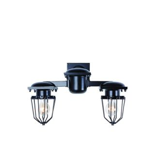 Elegant Lighting Kingston Collection 1451 Wall Lamp with Black Finish