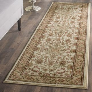 Safavieh Lyndhurst Collection Ohsak Ivory/ Tan Rug (23 x 16