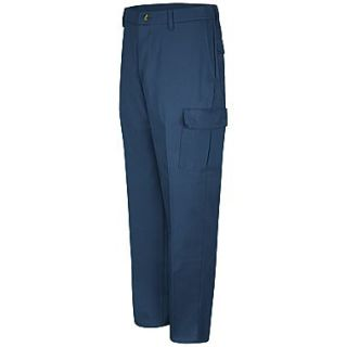 Red Kap  Mens Cotton Cargo Pant 32 x 30, Navy
