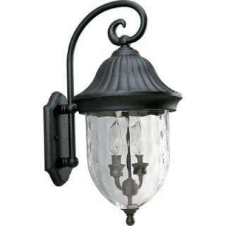 Progress Lighting Coventry 2 Light Textured Black Outdoor Wall Lantern P5829 31