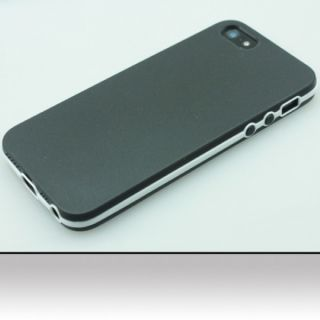INSTEN Plain TPU Rubber Candy Skin Phone Case Cover For Apple iPhone 5