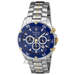 Bulova Marine Star Mens Watch 98H37
