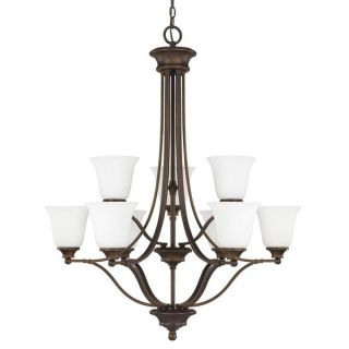 Capital Lighting Belmont Collection 9 light Burnished Bronze