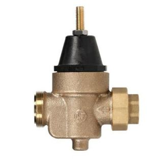 Watts 3/4 in. Brass MPT x FTP Pressure Reducing Valve 3/4 LFN45BM1 U