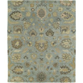 Christopher Kashan Hand tufted Light Blue Rug (10 x 14)   15682304